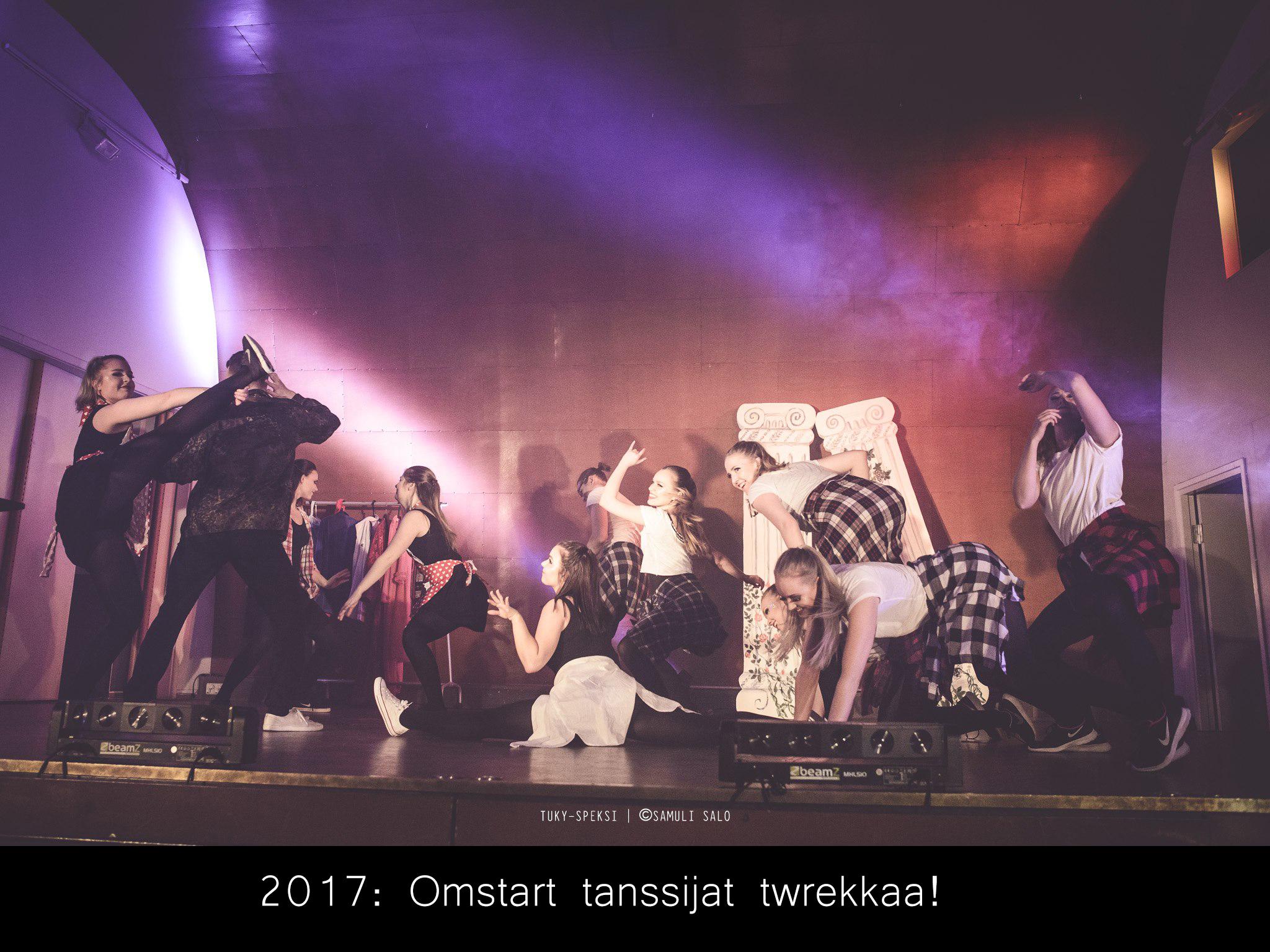 keinoja kaihtamatta_omstart tansijat twerkkaa_netti