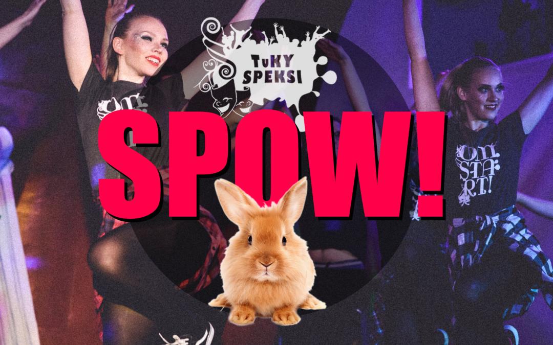 Spow! – TuKY-Speksin huikea juhlavuoden aloitusshow