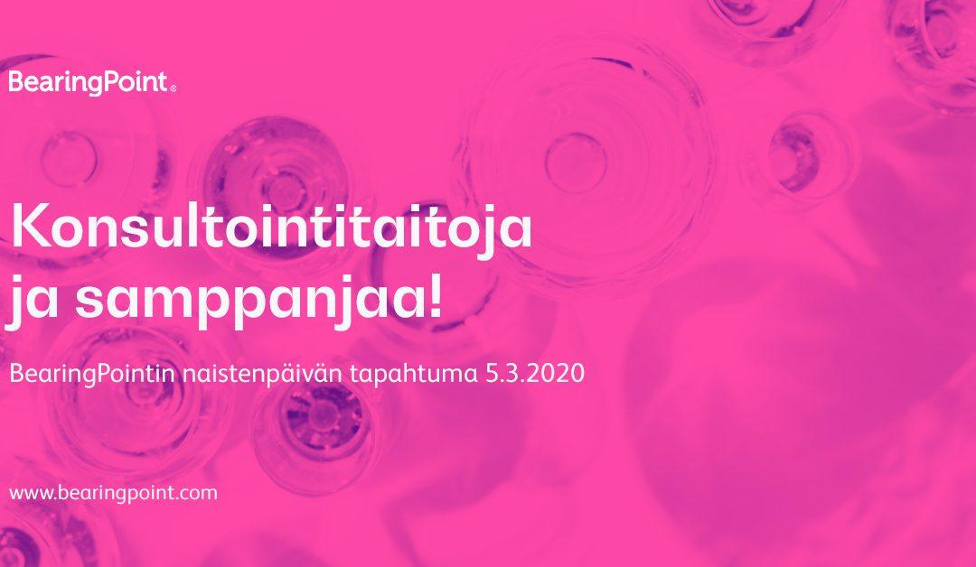 BearingPointin naistenpäivän tapahtuma 5.3.2020